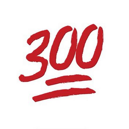 300 emoji