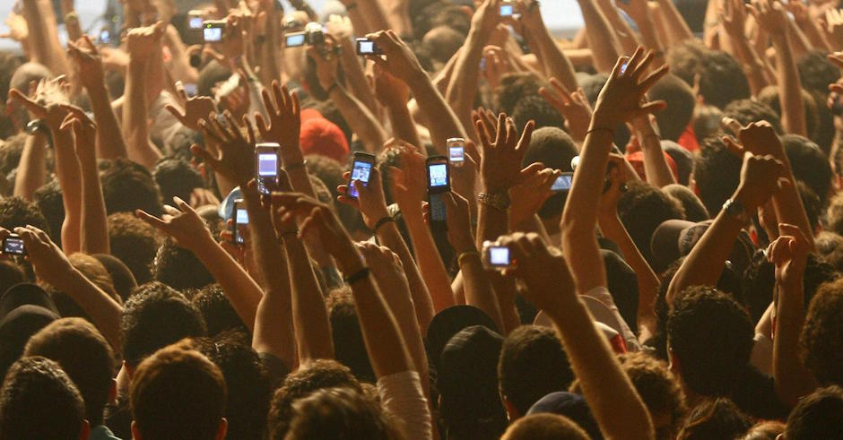 Apple wants to stop you filming at concerts with new patent