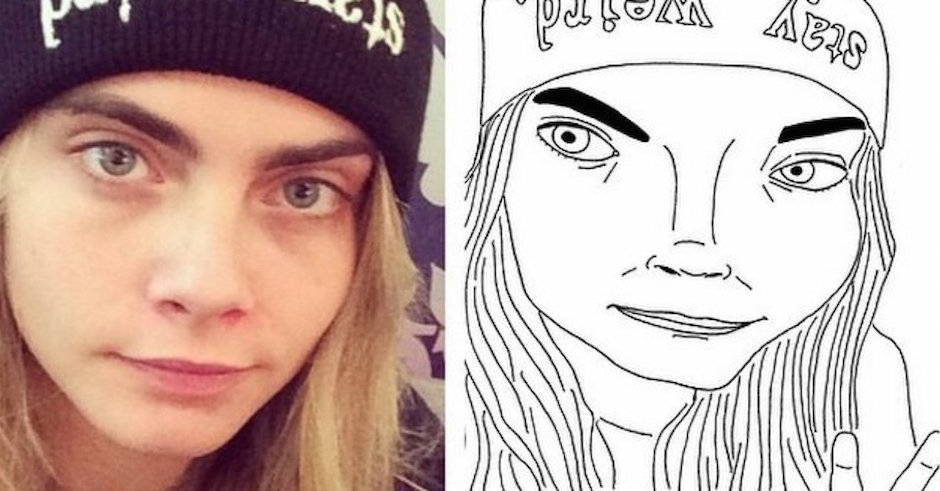 Badly Drawn Models: The Instagram You Didn't Know You Needed