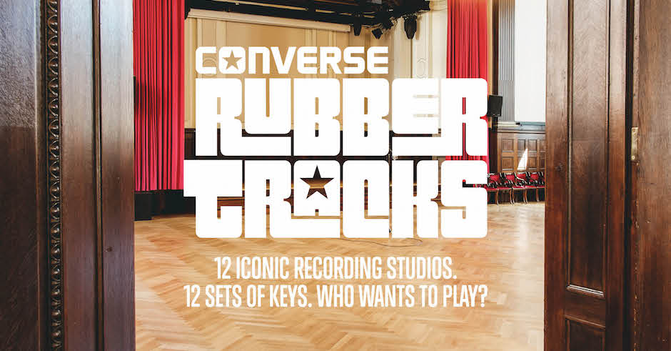 Converse Rubber Tracks Program