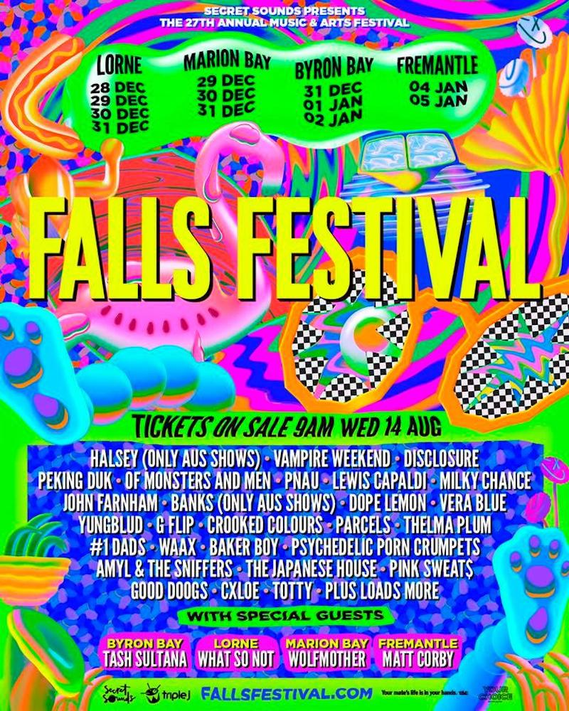Fall Festival 2020.Halsey Vampire Weekend Disclosure More Learnings From
