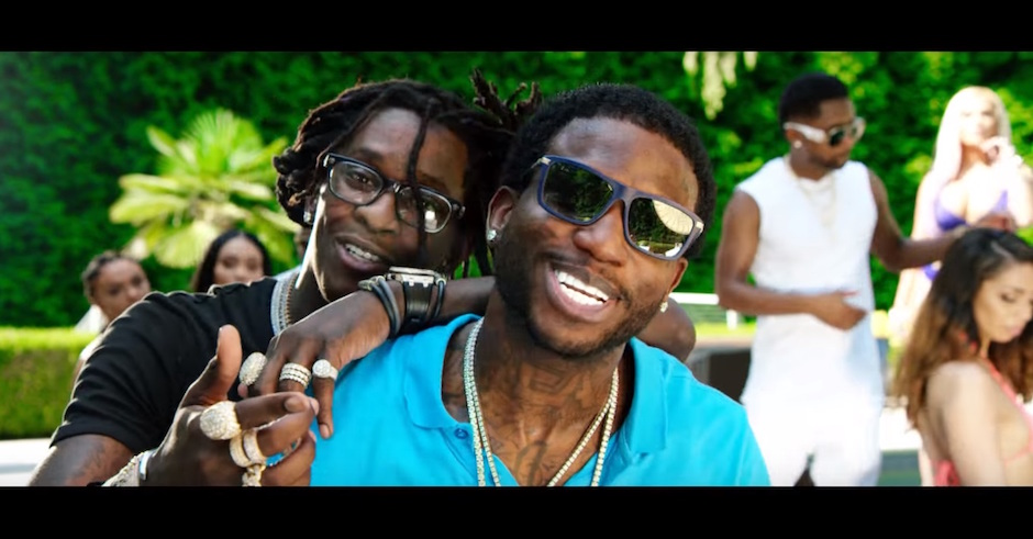 Gucci Mane and Young Thug celebrate Guwop Home