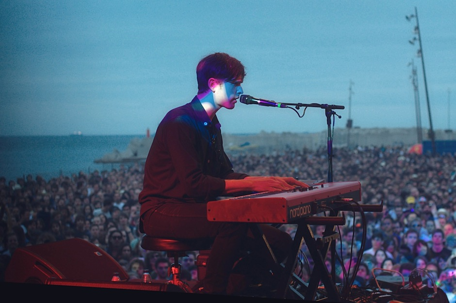 Listen to James Blake debut a new track.