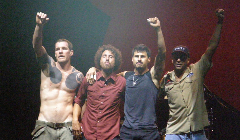 Sorry folks, that Rage Against The Machine poster - and their Splendour slot - is fake