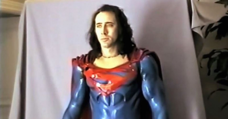 The Death Of Superman Lives - What Happaned To Nic Cage And Tim Burton's Superman Movie