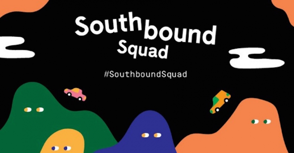 Wanna be Southbound's official Snapchatter? Join their #SouthboundSquad
