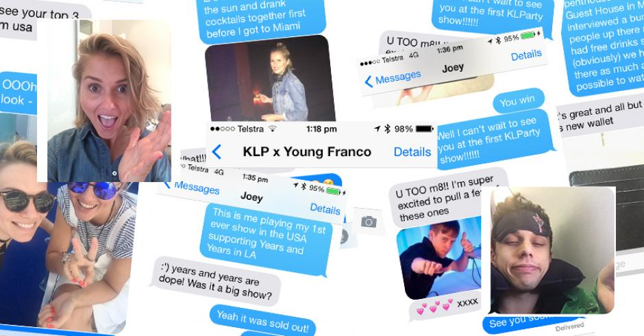 KLP x Young Franco Text Message Interview