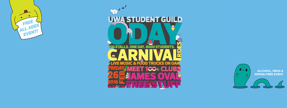 Come hang with us at the UWA Tav tomorrow for ODAY