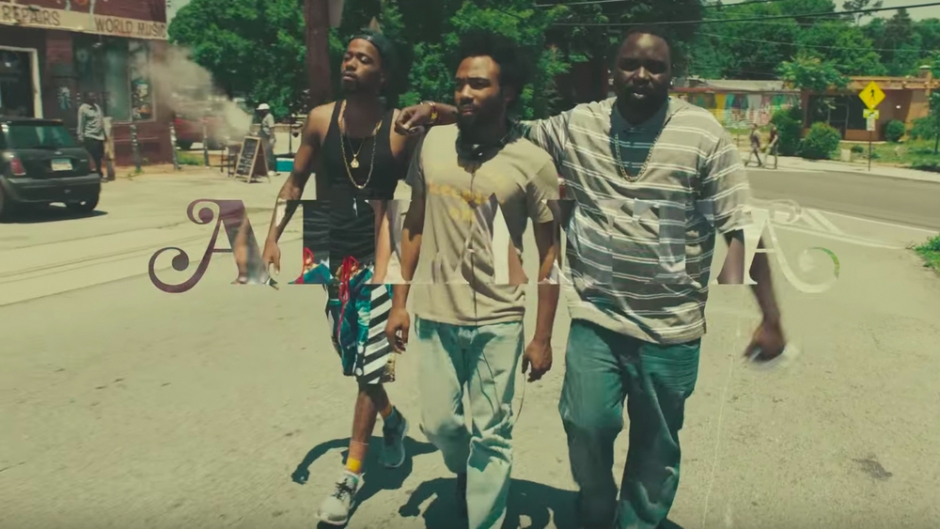 Our first look at Donald Glover's new rap comedy, 'Atlanta'.