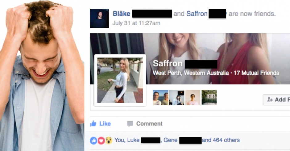 Meet the local man whose new Facebook friendship with a girl is legit almost at 500 likes