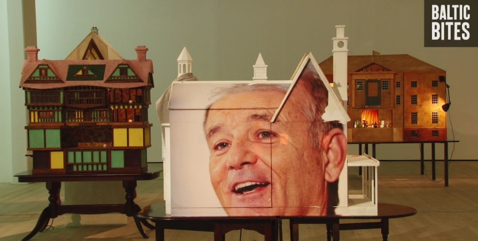 There's An Exhibition With Bill Murray's Face On Buildings