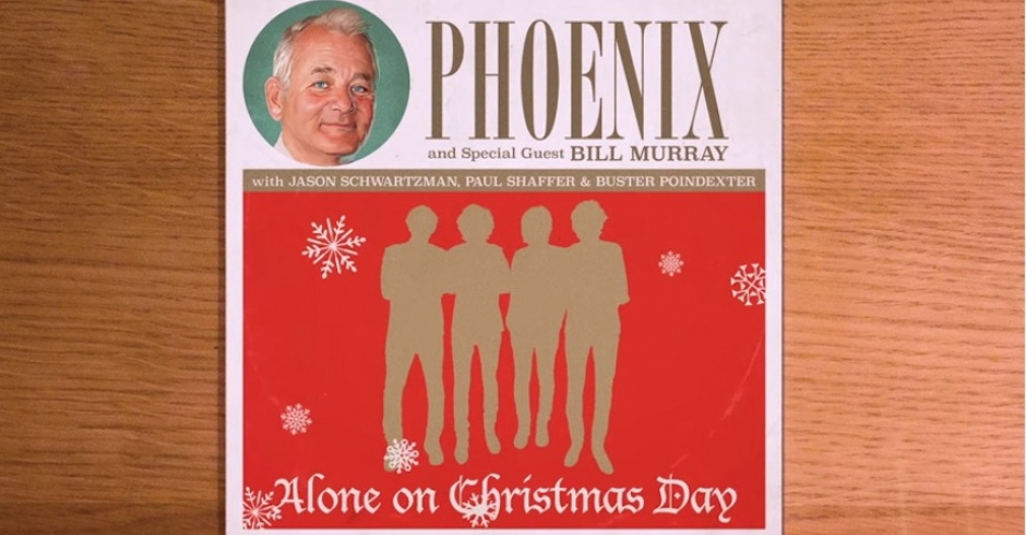 Bill Murray and Phoenix teamed up for a Christmas song