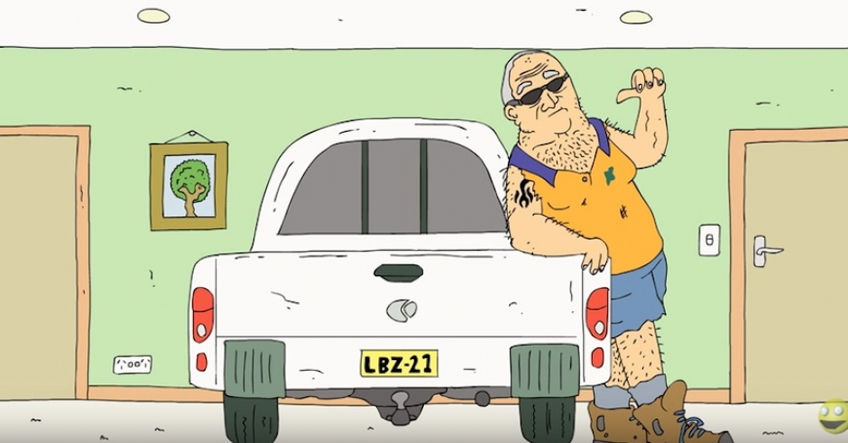Damo & Darren's creator returns with 'Chuck Her In The Ute'