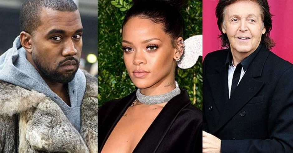Listen: Rihanna, Kanye West, & Paul McCartney - FourFiveSeconds