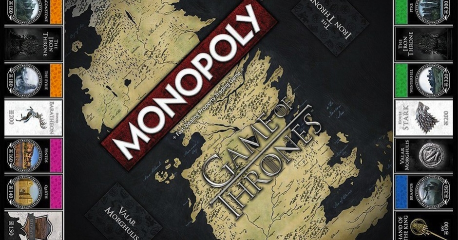 Game of Thrones themed Monopoly may help ease your pain at season's end next week