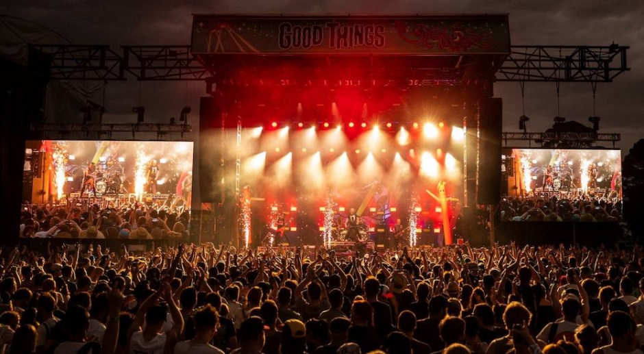 Good Things takes us back to the heyday of Australian mega-festivals