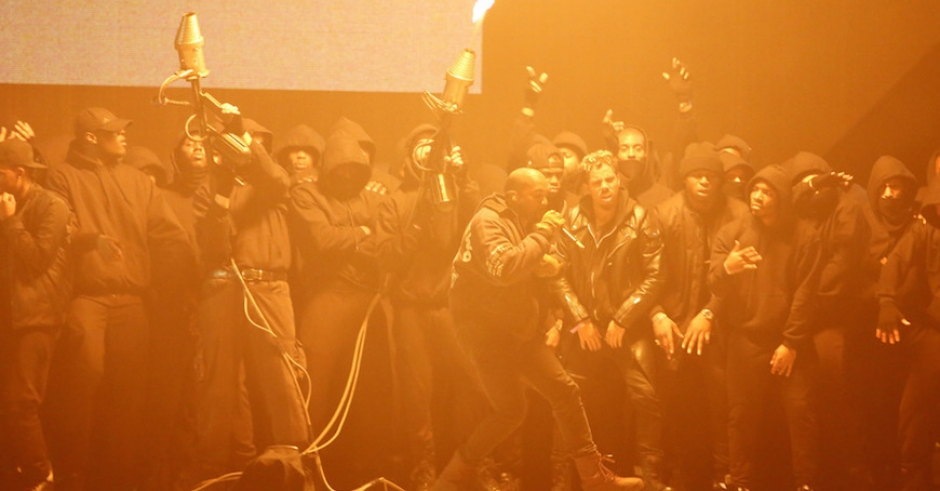 Watch: Kanye West BRIT Awards Performance