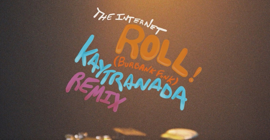 Listen to Kaytranada's remix of The Internet's latest, Roll (Burbank Funk)