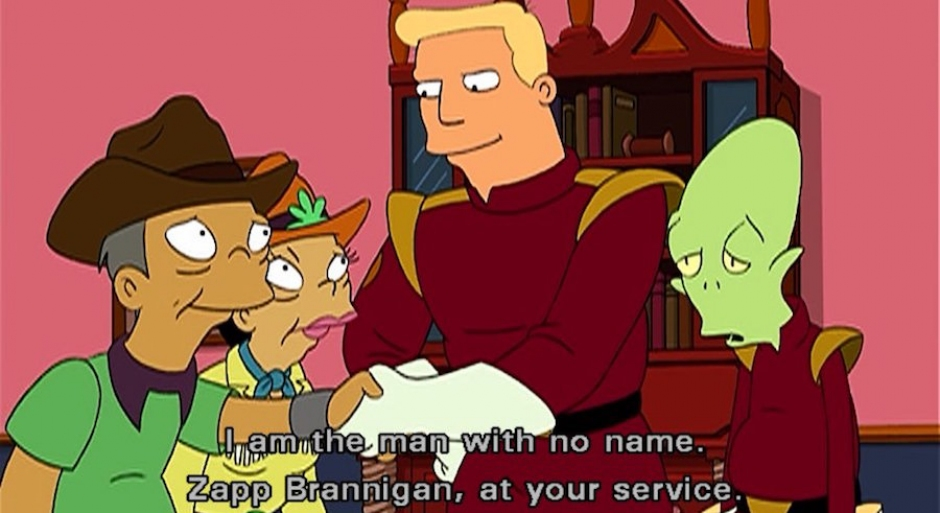 #makeAmericaBrannigan with Futurama's Zapp Brannigan and Donald Trump