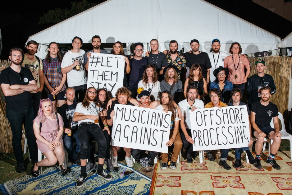 Australian musicians join the call to #LetThemStay