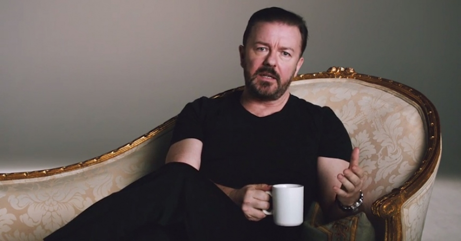 Ricky Gervais Is Here To Tell You Netflix Has Arrived