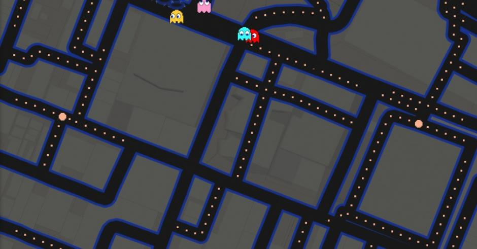 The Best Google Maps Pac-Man Locations