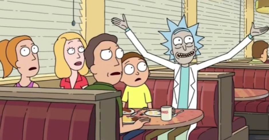 There is a legit brand new episode of Rick & Morty on the interwebs today