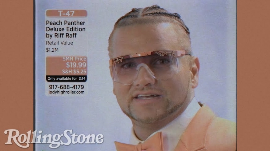 Riff Raff plugs his new album with a hilarious infomercial