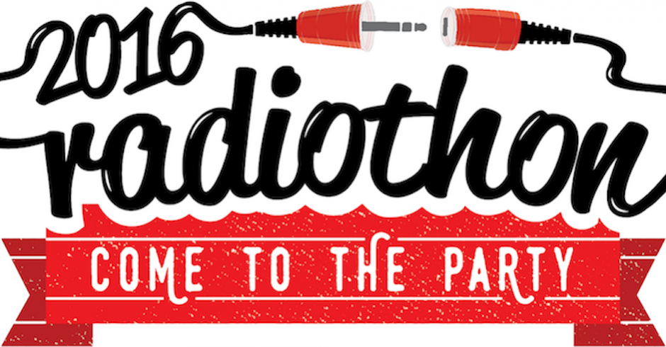 RTRFM's Radiothon is back for 2016 and it's massive