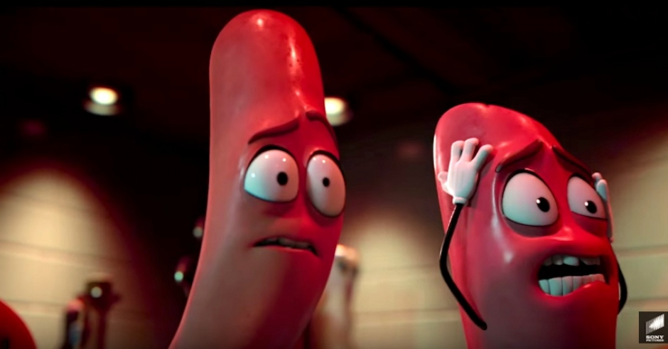 Seth Rogen made a movie about the horrors of being grocery food called Sausage Party
