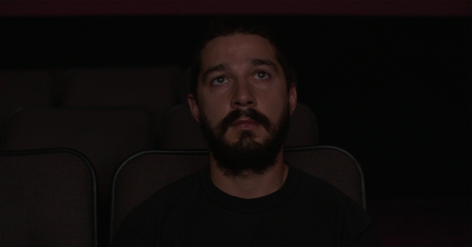 Watch a live stream of Shia Labeouf watch only his movies for 72 hours straight