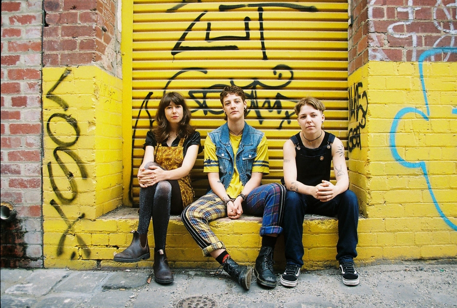 Introducing power-pop trio Slush and their new single, Middle Name