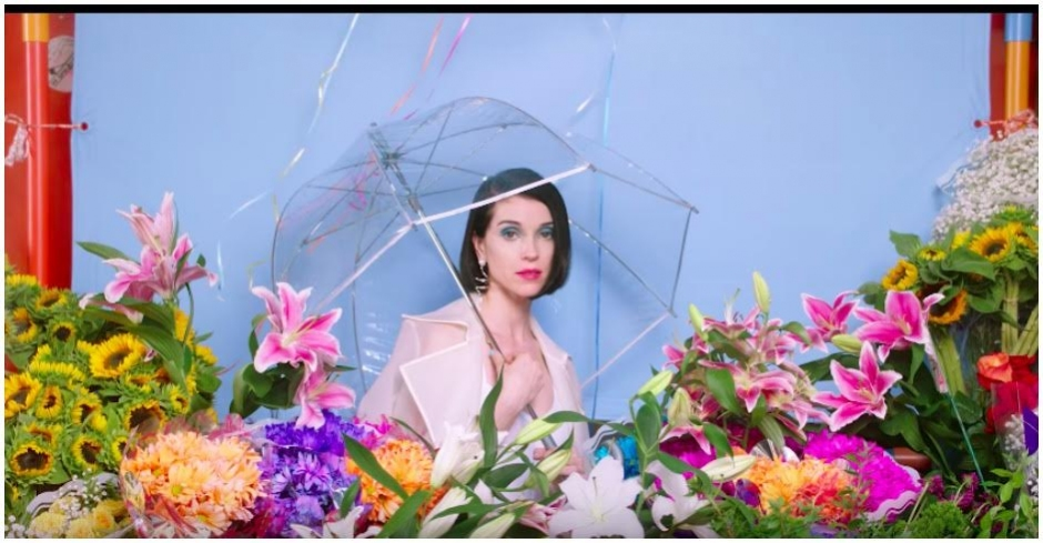 St. Vincent's new clip for New York is a colourful spectacle
