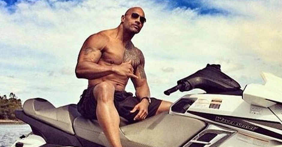 The Rock x Baywatch
