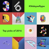 Previous article: An A-Z of highlights from last year's 36 Days Of Type