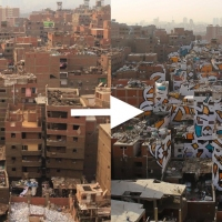 Next article: Tunisian-French artist eL Seed creates beautiful mural in Cairo spanning across 50 buildings