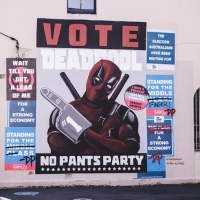 Previous article: Vote for Deadpool's No Pants Party this Australian election