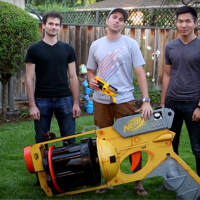 Previous article: Former NASA engineer builds the world's largest NERF gun
