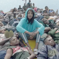 "Previous article: ""Boat people / What's up with that?"" Watch M.I.A. break down 'Borders' in her epic new clip"