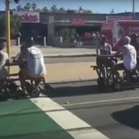 Next article: Perth dudes having a few quiet ones on motorised picnic tables capture the hearts of a nation