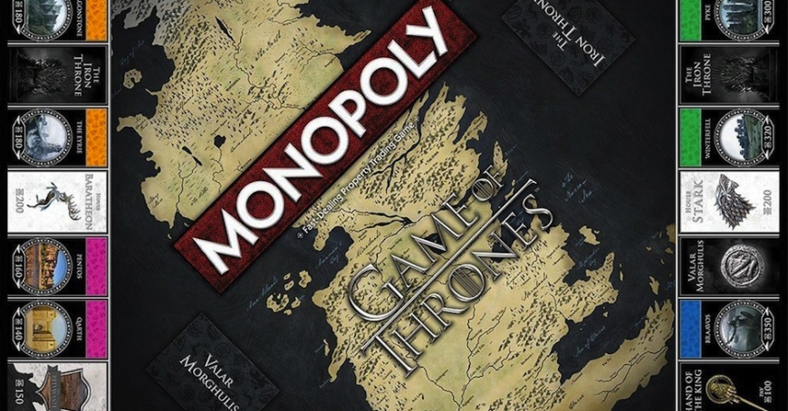 game of thrones themed monopoly may help ease your pain at. Black Bedroom Furniture Sets. Home Design Ideas