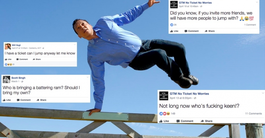 We found a Groovin The Moo Fence Jumping FB group and it is highly