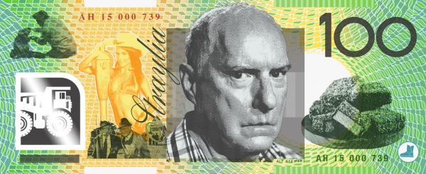 Straya Cash - an Aussie bank note re-design by Aaron Tyler | Pilerats