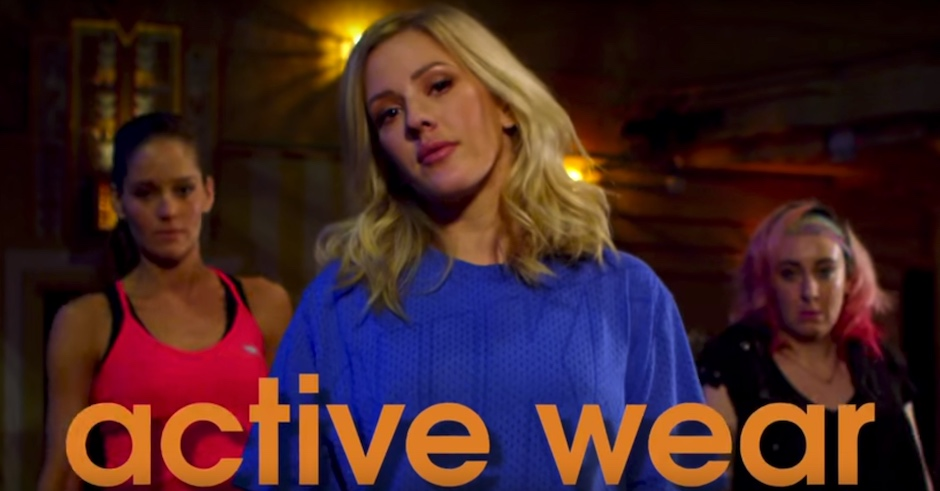Activewear, now featuring Ellie Goulding