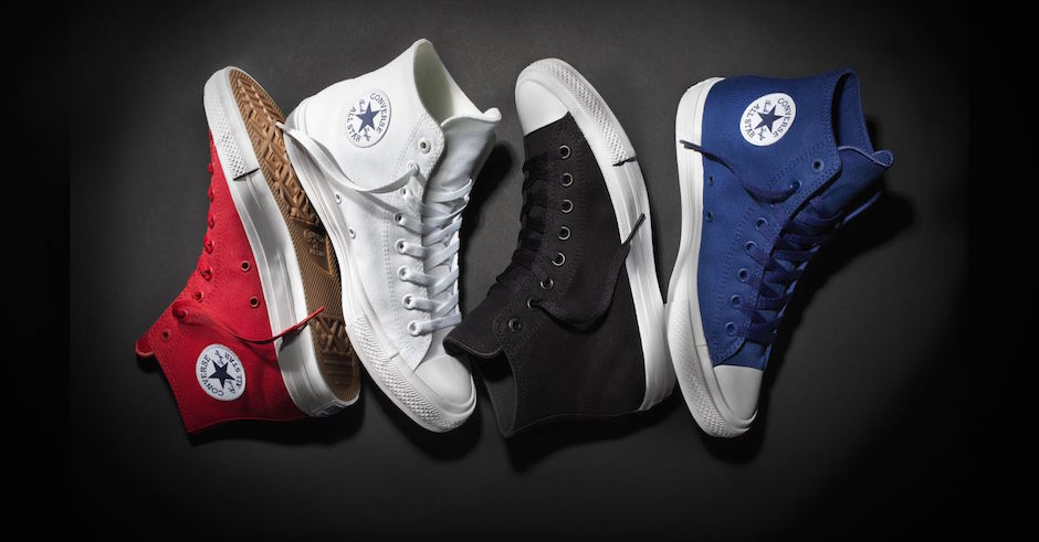Converse debut new shoe: Chuck Taylor All Star II