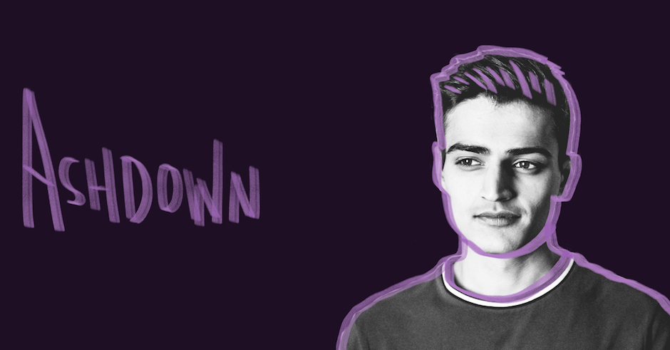 Introducing Ashdown, and his soothing new single Where It Hurts