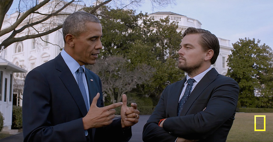 You can stream Leo's climate change documentary, Before The Flood, for free, right now