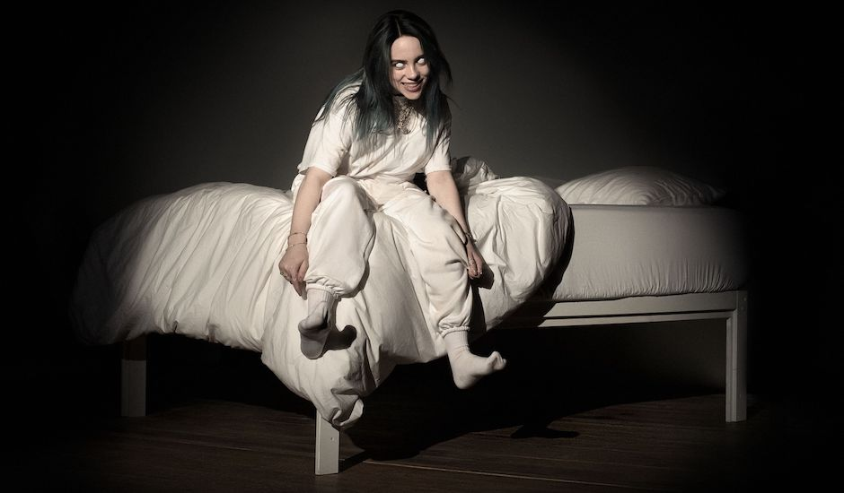 Billie Eilish gets creepy on bury a friend, announces debut