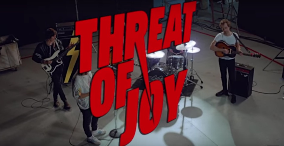 Watch the wonderfully bizarre new video for The Strokes' Threat Of Joy