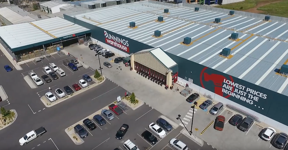 An Australian hero used a drone to pick up a Bunnings Sausage Sizzle